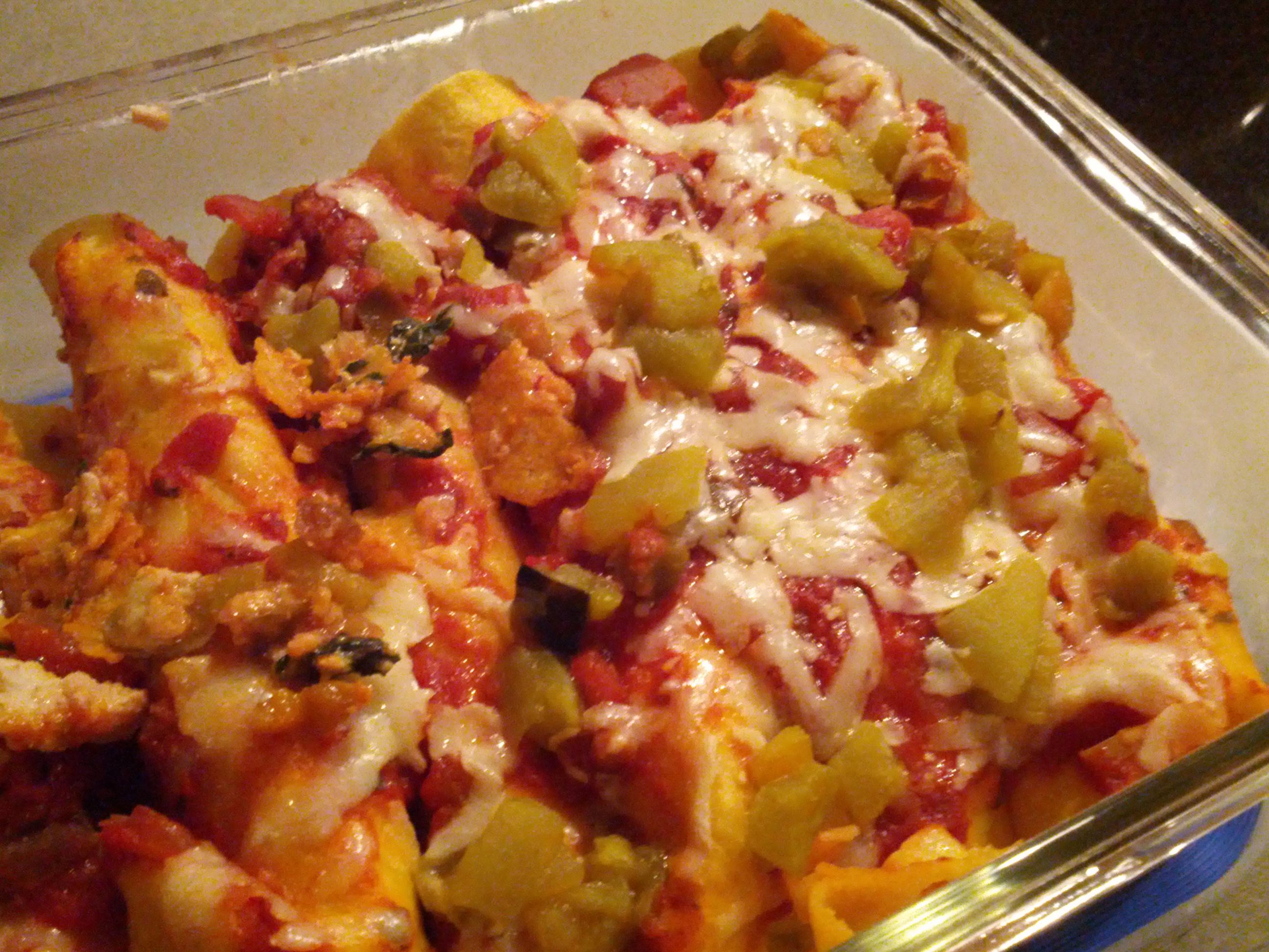Turkey and Spinach Enchiladas - BigOven