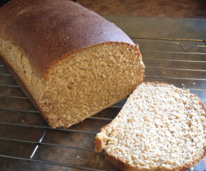 100% Honey Whole Wheat Bread