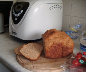 100% Whole Wheat Bread for Bread Machine