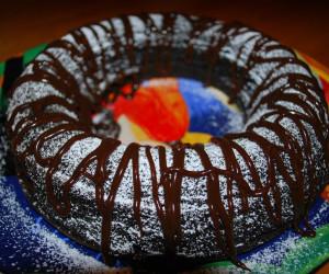 4 Ingredient (FLOURLESS) Chocolate Cake