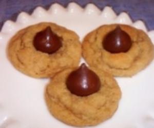 Amanda's Peanut Butter Hershey Kiss Cookies