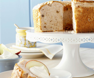 Apple angel food cake apple spice angel food cake recipe forumfinder Images