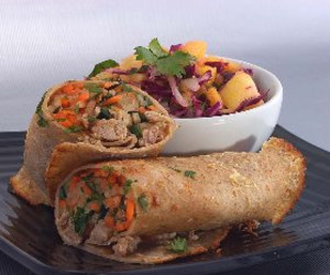 Asian Sandwich (Bahn Mi) Wraps