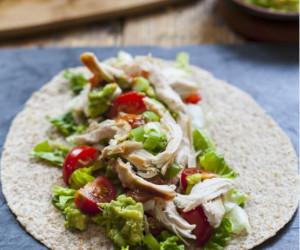 Avocado & Chicken Tortilla Wraps