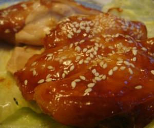 Baked Chicken in Hoisin & Char Siew Sauce