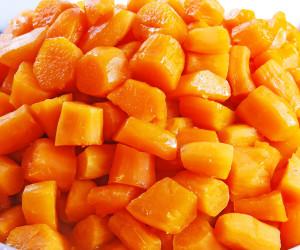 Baked Yams in Orange Juice
