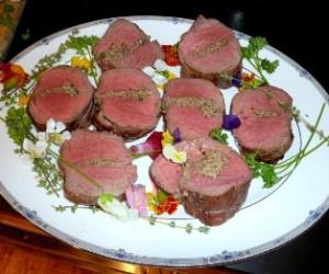 Beef Tenderloin (Filet Mignon) Stuffed with Wild Mushrooms