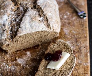 Beer and Rye Irish Soda Bread