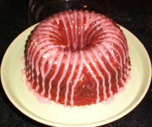 Blackberry Wine Cake