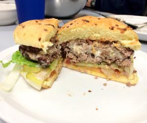 Bleu Cheese Stuffed Hamburgers