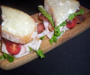 Blue Maple Club Sandwich