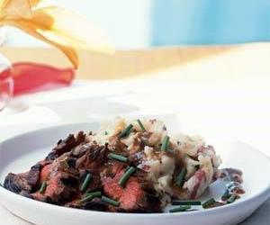 Bourbon & Brown Sugar Flank Steak