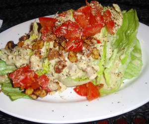 Brio Wedge Salad and Dressing