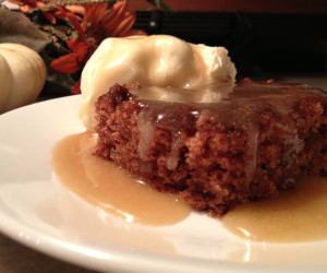 Caramel Sauce (Apple Cake)