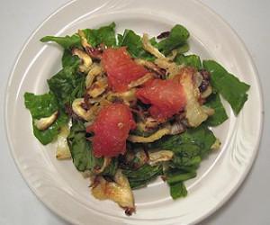 Caramelized Ruby Red Grapefruit Salad