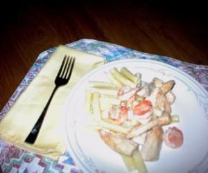 Chesapeake Bay Pasta Chicken and Shrimp