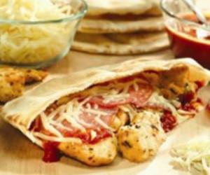 Chicken Parmesan Pita Pockets
