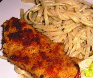 Chicken Piccata Pasta Toss