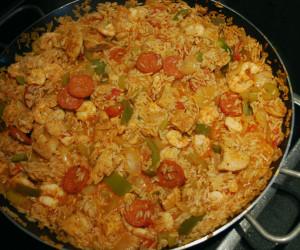 Chicken, Prawn & Chorizo Jambalaya