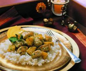 Chicken Saute with Pineapple and Lemon Grass