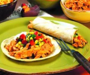 Chicken Tacos with Fresh Corn Salsa