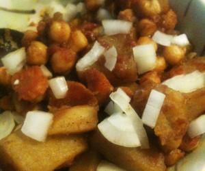 chickpea and potato recipe
