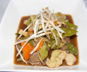Chinese Beef with Vegetables