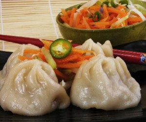 Chinese Steamed Buns with Roast Pork (cha Shao Pao)
