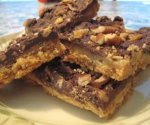Cookie Day - Chocolate Toffee Bars