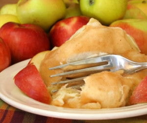 Crock Pot Apple Dumplings