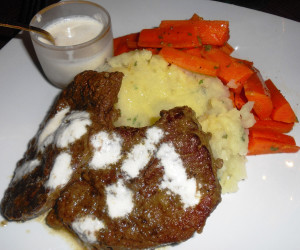 Crock-Pot Smothered Steak