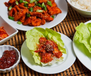 Dak Bulgogi - Korean BBQ Chicken
