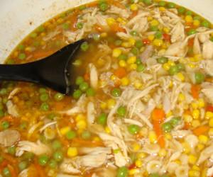 Deli Rotisserie Chicken Soup