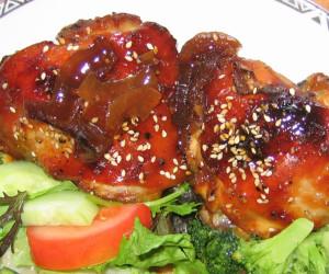 Disco Chicken (AKA maple rum chicken)
