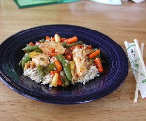 Easy Chicken and Vegetable Stir-Fry