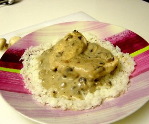Easy Cream of Mushroom Chicken