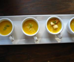 Easy, Creamy Butternut Squash Soup...Amuse Bousche