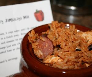 Easy Sausage & Chicken Jambalaya
