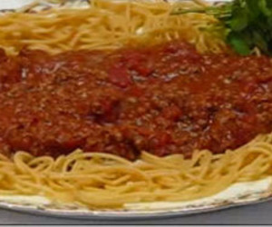 Easy Spaghetti with Homemade Meat Sauce