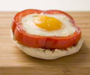 Egg and Pepper Samich