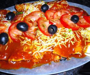 Enchilada Sauce with Chile Ancho and Chile Guajillo