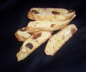 Fig and Macadamia Biscotti