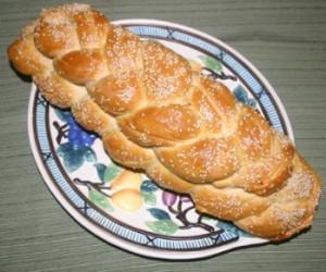 Golden Braided Egg Bread or Challah