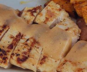 Grilled Chicken with Mustard Sauce