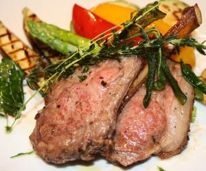 "Grilled Lamb Chops ""Scotta Dita"""