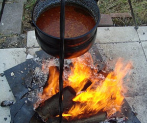 Gulyásleves (Goulash Soup)