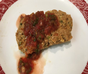 Healthy Spicy Turkey Meatloaf