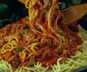 Hearty Spaghetti with Pork