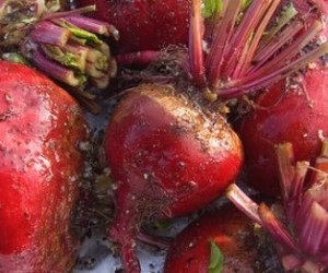Honey Dijon Roasted Beets