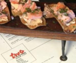 Hot Smoked Salmon Potato Chips with Chipotle Lime Cream Cheese
